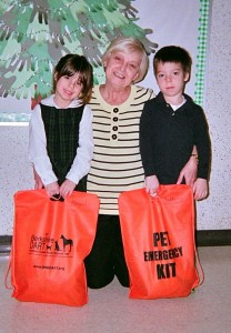 Many Thanks for DART Volunteer Mary Ellen Morris for introducing young animal advocates at St. Mark's school in Pittsfield to Berkshire DART and Pet Preparedness.