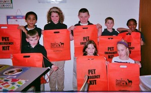 Future DART Volunteers from Saint Marks School in Pittsfield learned about Pet Care During Emergencies during an After School Enrichment Program in March 2013